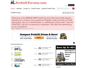 Forklift Forums